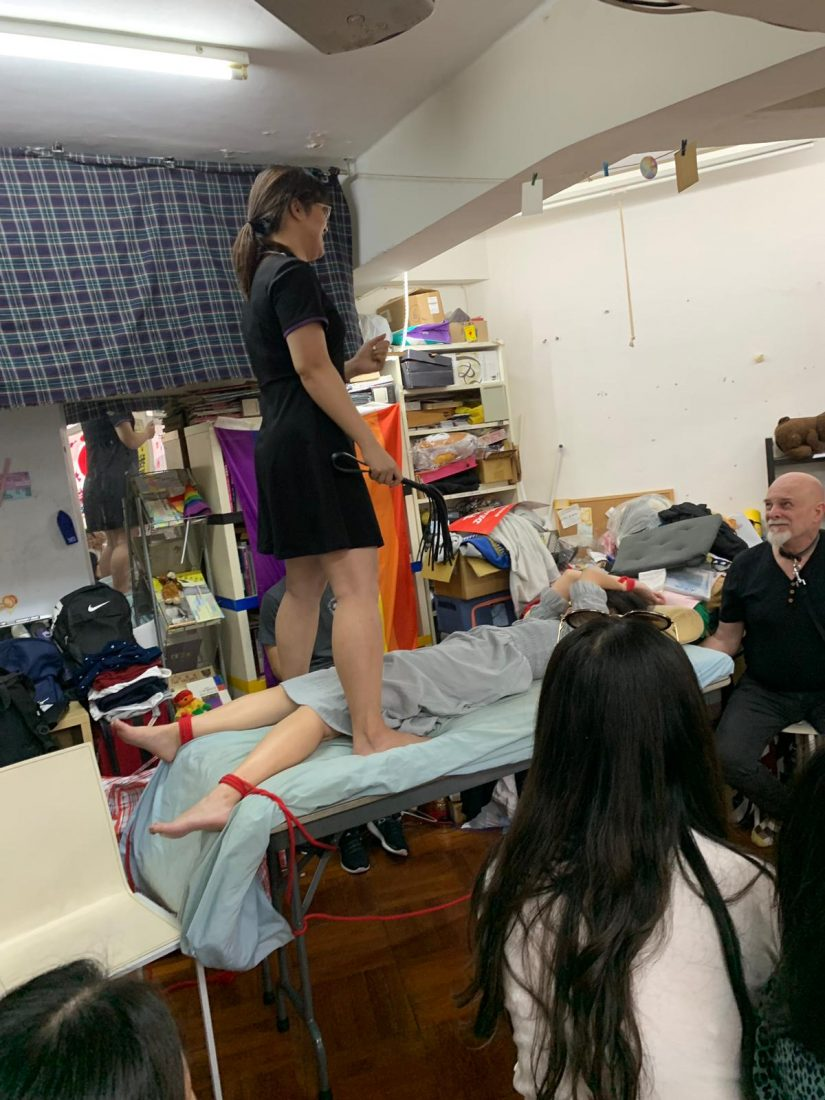 BDSM workshop at HK Rainbow